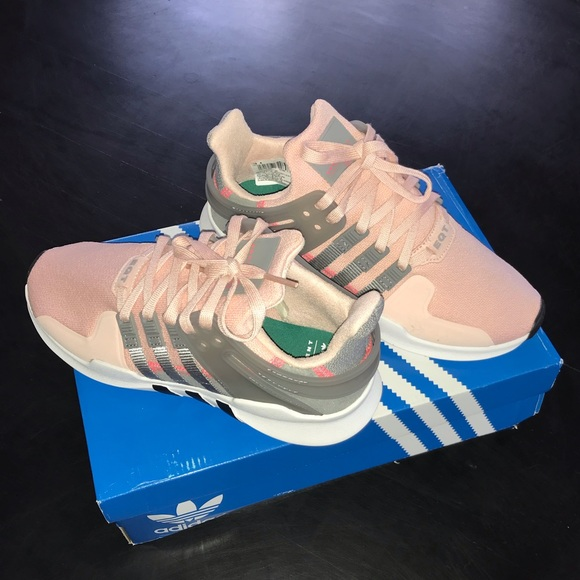 NEW Adidas EQT Support ADV Pink & Grey Shoes Sz5